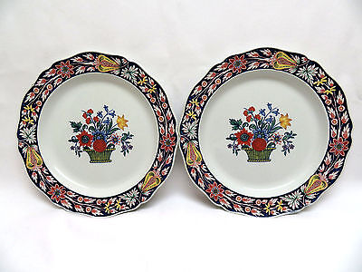 "Set of 2  Circa 1914 ""Poterat"" WEDGWOOD England 9 1/4"" Luncheon Plates"