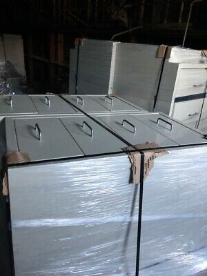 """18"""" x 22"""" x 36"""" Stainless Interior Standing Height Cabinets"""