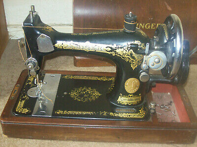 vintage singer sewing machine model number y9616910 1934