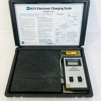 TIF 9010 Electronic Charging Scale HVAC Refrigerant Recovery Scale