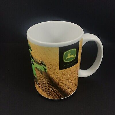 John Deere Combine Scene Coffee Cup Mug Tractor Photo On Cup