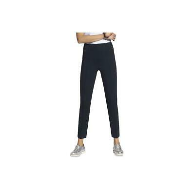 Basler Womens Navy Seamed Pull On Office Ankle Pants 14 BHFO 2019