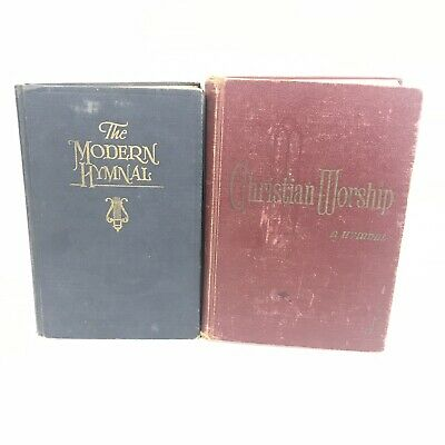 """VTG Songbook /"""" The Modern Hymnal-Shaped Notes Edition """" 1926-Hardcover"""