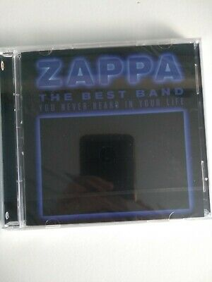 The Best Band You Never Heard In Your Life 2CD Frank Zappa Audio CD