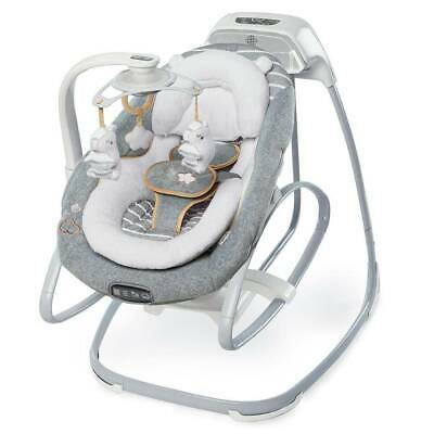 Ingenuity Premium 2-in-1 Glide Swing & Rocker for Baby with Accessories