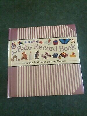 Baby Record Book Featuring Traditional Nursery Rhymes