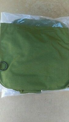 Lot Of 5 New Military Surplus Gas Mask Bags, Carrier 122398B