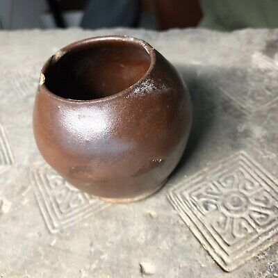 Ancient Chinese antique YUAN  Dynasty Porcelain Small JAR