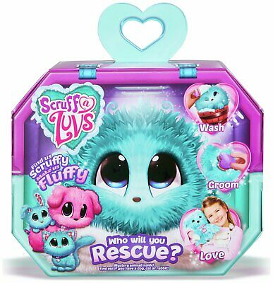 Scruff a Luvs Aqua Mystery Rescue Pet Soft Toy