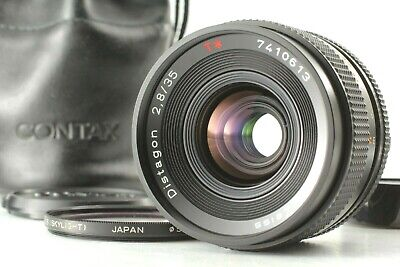 【Excellent+5】CONTAX Carl Zeiss Distagon T* 35mm f2.8 MMJ MF Lens From JAPAN #329