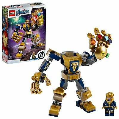 LEGO Super Heroes Marvel Avengers Thanos Mech Set - 76141