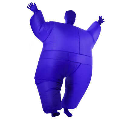 Novelty Inflatable Fat Chub Costume Full Body Suit Fancy Dress Party Costume