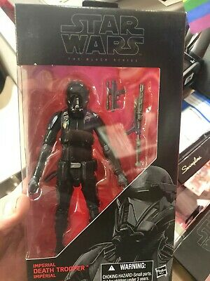 Star Wars The Black Series #25 IMPERIAL DEATH TROOPER Action Figure - Brand New