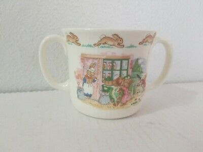 Vintage Royal Doulton Fine Bone China Bunnykins Childs Cup Double Handles 1936