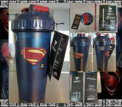 Perfect Shaker 28 oz.  Superman Justice League Shaker Cup Bottle