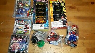 Nintendo Super Mario Figure Wendy's Kids Meal Toy, with cars, and more