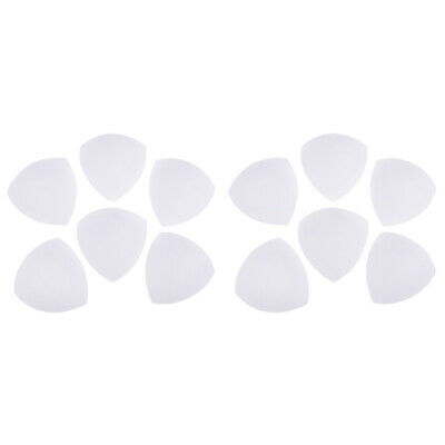 6 Pairs Triangle Removable Bra Pad Insert for Swimwear Chest Breast Push UP