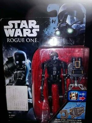 Figurine STAR WARS ROGUE ONE K-2S0 NEUF SOUS BLISTER HASBRO DISNEY