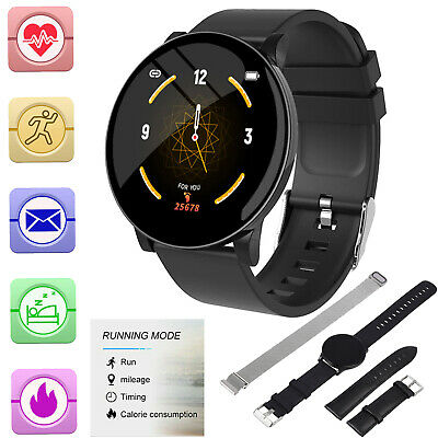 Smart Watch Fitness Tracker Blood Pressure Heart Rate Waterproof  FOR Android UK