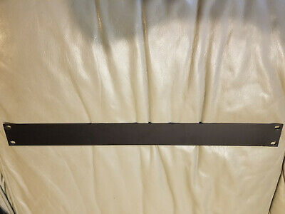 """1x Middle Atlantic Rack UP1 Utility Blank Panel Cover 1 Space 1-3//4/"""" 1U Lacing"""