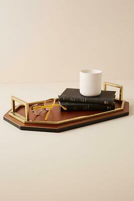ANTHROPOLOGIE Charles Leather Decorative Tray RRP £98 new