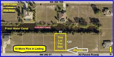 1st WATERFRONT FLORIDA CAPE CORAL Lot Naples Land Ft Fort Myers Port Charlotte