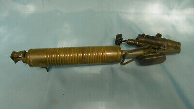 Antique Torch a Essence in Brass and Steel Barthel Vintage