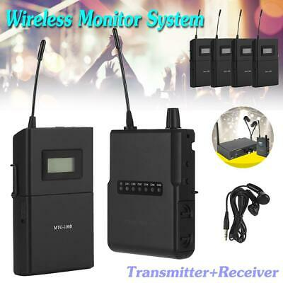 Wireless In Ear Monitor System IEM Audio Monitoring Transmitter Receiver Stage