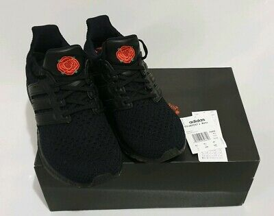 Women's Black Manchester United Ultraboost Clima Shoes