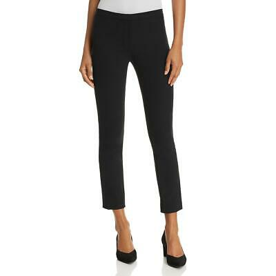Theory Womens Black Classic Fit Mid-Rise Skinny Pants Trousers 0 BHFO 1115