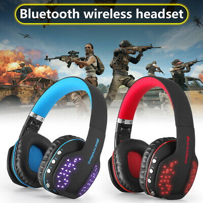 Pro Wireless Gaming Headset Stereo with Mic for PC Nintendo Switch PS4 Xbox oneX
