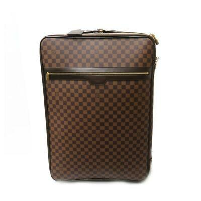 Auth Louis Vuitton LV Pegase 65 Suitcase Luggage N23295 Damier Brown 5448