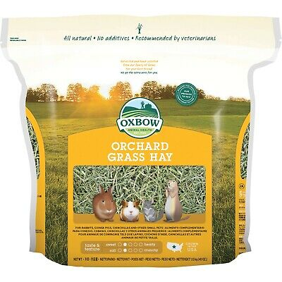 Petlife International Oxbow Orchard Grass Hay (VP4320)