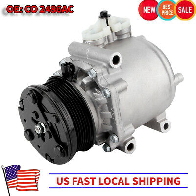 1 Year Warranty AC Compressor For 2007-2010 Ford Mustang 4.0L R67193