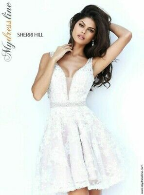 Sherri Hill 50656 Short Cocktail Dress ~LOWEST PRICE GUARANTEED~ NEW Authentic