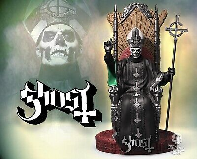 Ghost Papa Emeritus II Rock Iconz™ Statue Direct from KnuckleBonz
