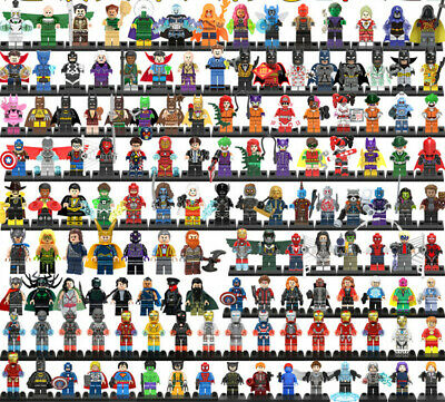 Super heroe Ninjago Venom SpiderMan Star Wars Mini toys fit all building block