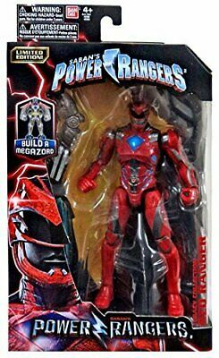 Power Rangers Limited Edition Mighty Morphin Legacy Movie Figures RED