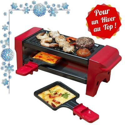 Appareil Raclette Compact Hiver Fromage Charcuterie Mini Grill Recette Ambiance