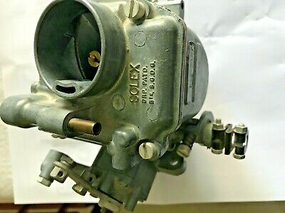 Solex   Carburettor   Standard Vanguard New