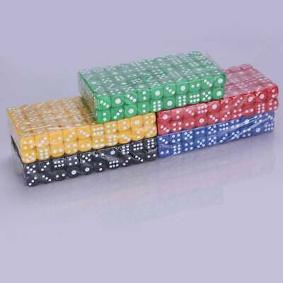 Coloured Dice Set Pack Six Sided Game Board Games Fun And Interesting J