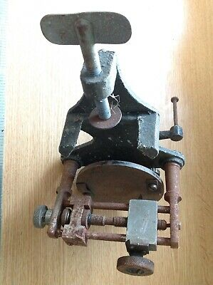 Vintage Watchmakers Clockmakers Disc Dial Cutting Tool Up To Approx 67mm