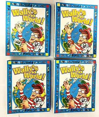 COMPLETE Wally's World Binder Set - Issues 1-52 + Index - Excellent Condition