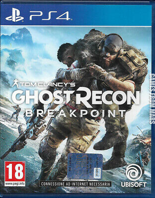 Tom Clancy's GHOST RECON BREAKPOINT PS4 USATO ITALIANO