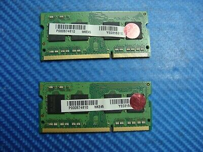 G45 2x2GB X305 F55 4GB Kit Memory RAM Upgrade for Toshiba Qosmio F45 G35