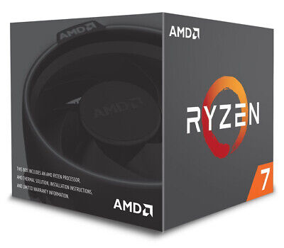 AMD Ryzen 7 2700X Eight-Core 3.7GHz Socket AM4 16MB - Boxed