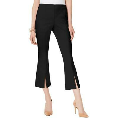 INC Womens Split-Hem Flared Workwear Cropped Pants Plus BHFO 2229