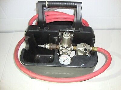 RAD Torque Systems Pressure Gauge Control Box Caddy For Pneumatic Torque Wrench