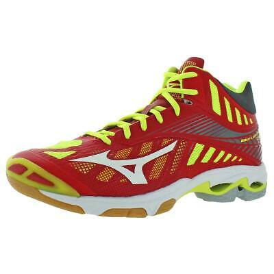 Mizuno Womens Wave Lightning Z4 Low Top Lace Up Tennis Shoes
