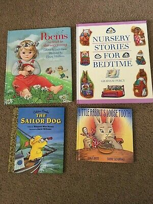 Childrens Bedtime Books - LOT OF 4 - Story Time Sets Paperback Hardcover